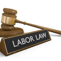 Labor law and gavel